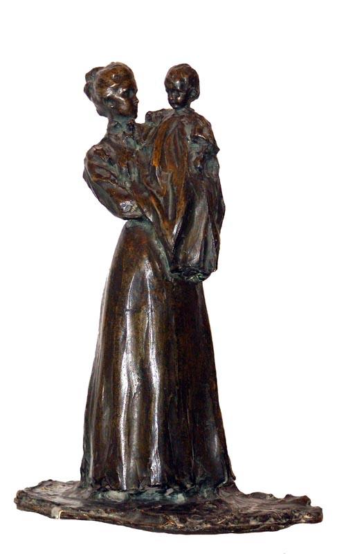 Персональный сайт - Трубецкой П.П. Мать с ребенком. 1901